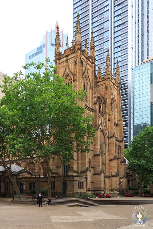 Die St Andrews Cathedral Sydney