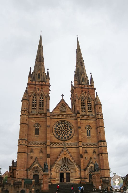 Die St. Marys Kathedrale in Sydney