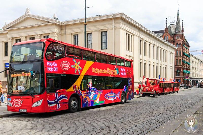 Eine Stadtrundfahrt in Oslo