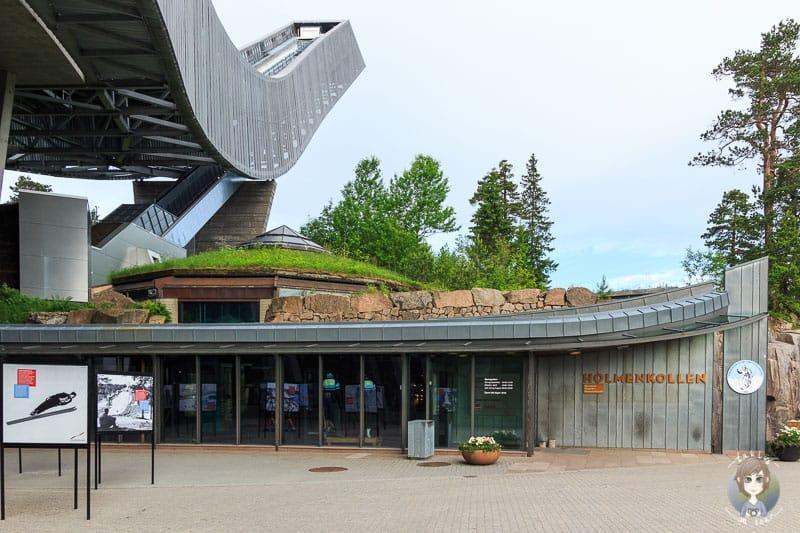 Das Holmenkollen Ski Museum in Oslo