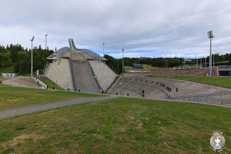 Die Holmenkollenschanze in Norwegen