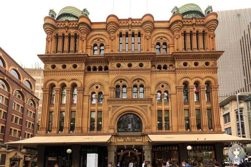 Das sehenswerte Queen Victoria Building