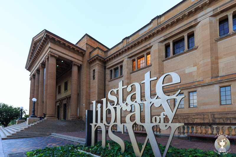 Das Gebäude der State Library Sydney