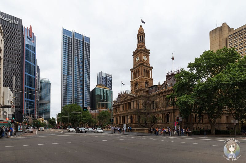 Die Town Hall in Sydney
