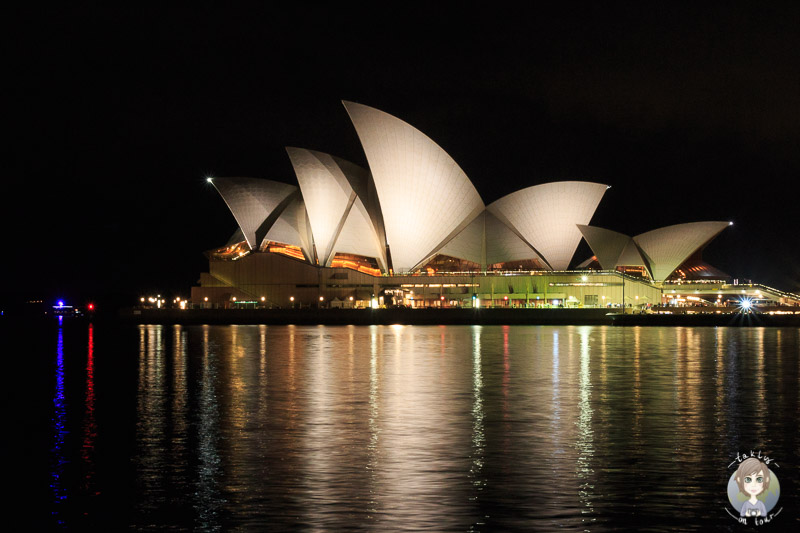 Die Oper vom Campbell's Cove Lookout in Sydney