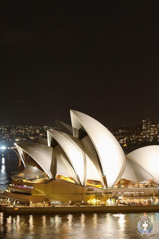 Details der Oper von Sydney