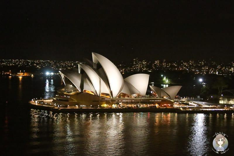 Aussicht auf die Oper von Sydney