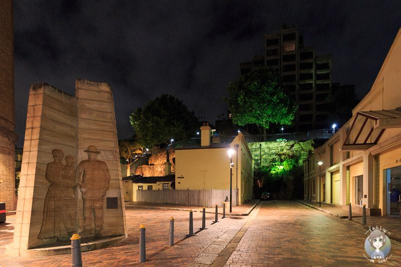 Abendlicher Gang durch die Strassen von Sydney