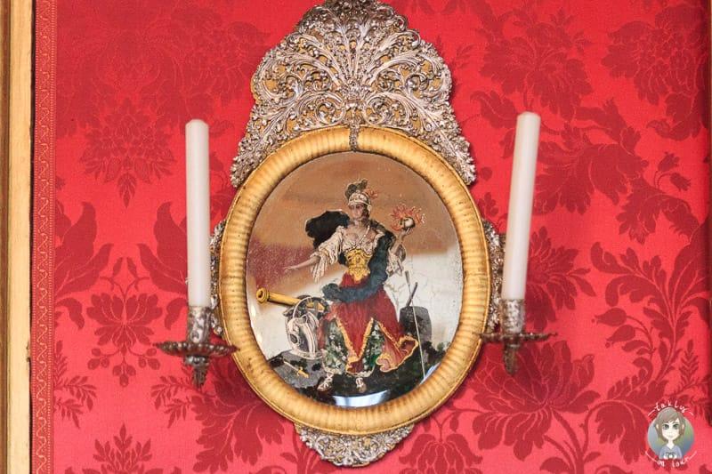 Antiker Kerzenhalter im Residenzschloss Detmold