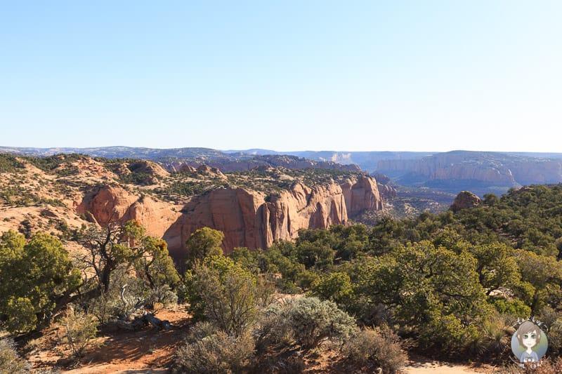 Aussicht vom Sandal Trail