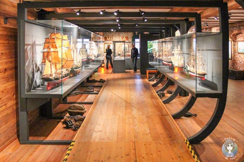 Ausstellung im Internationalen Maritimen Museum Hamburg