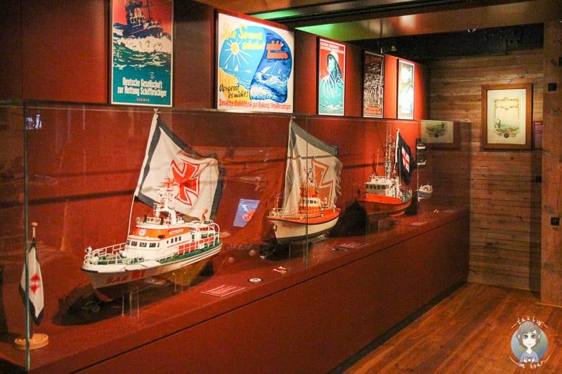 Ausstellung der Schifffahrt in der Hamburger Hanfecity