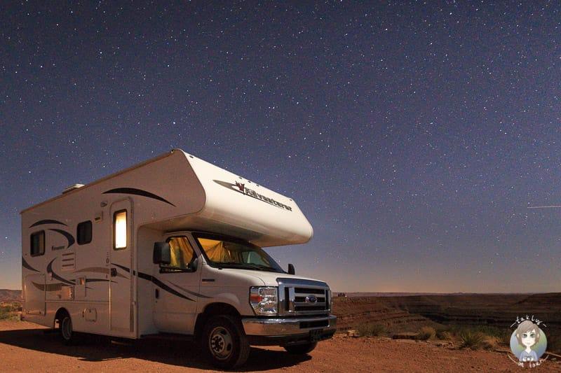 Camping im Goosenecks State Park