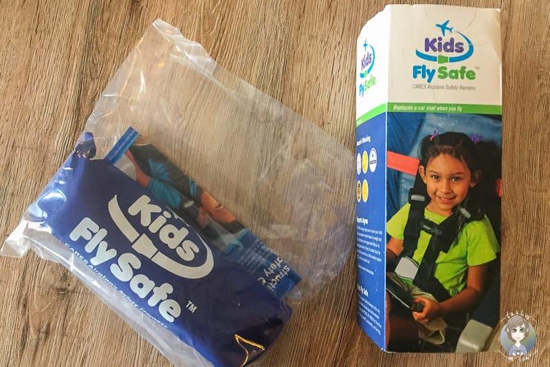 Sicherheitsgurt für Kinder im Flugzeug: CARES Gurt