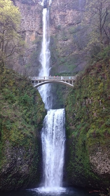 Die Multnomah Falls