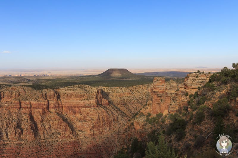 Ganz unterschiedliche Aussichten vom Desert View Point