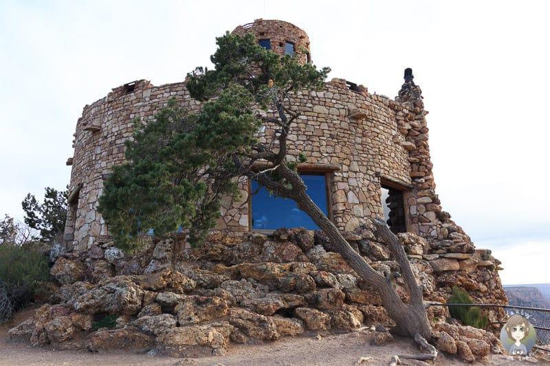 Blick zurück auf den Watchtower
