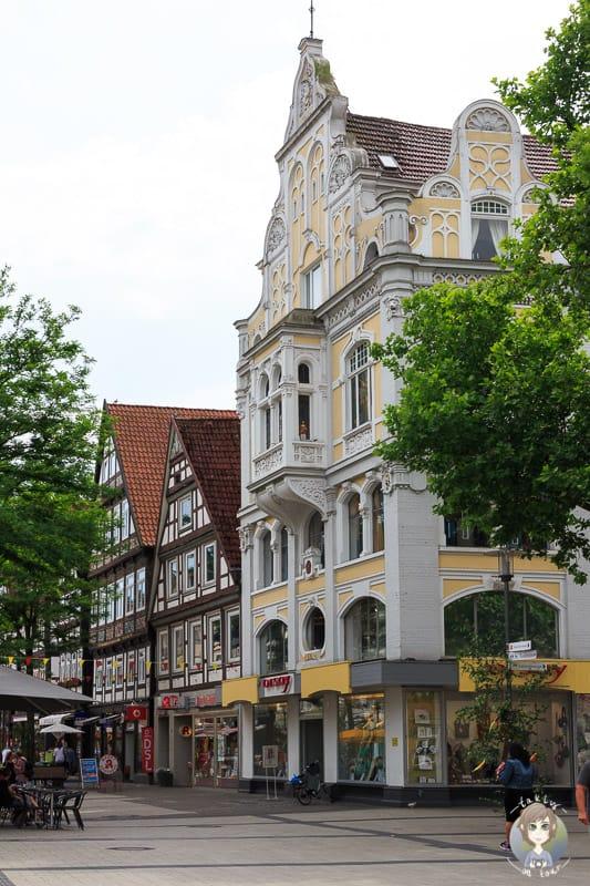 Ein historisches Haus in der Detmolder Altstadt
