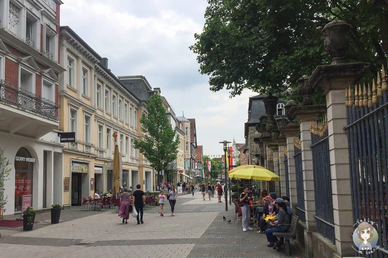 Die Detmolder Innenstadt