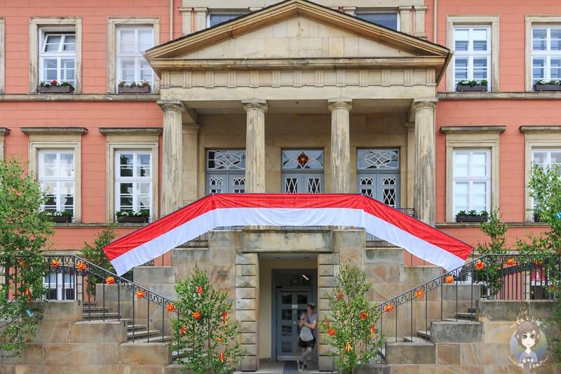 Das sehenswerte Rathaus in Detmold