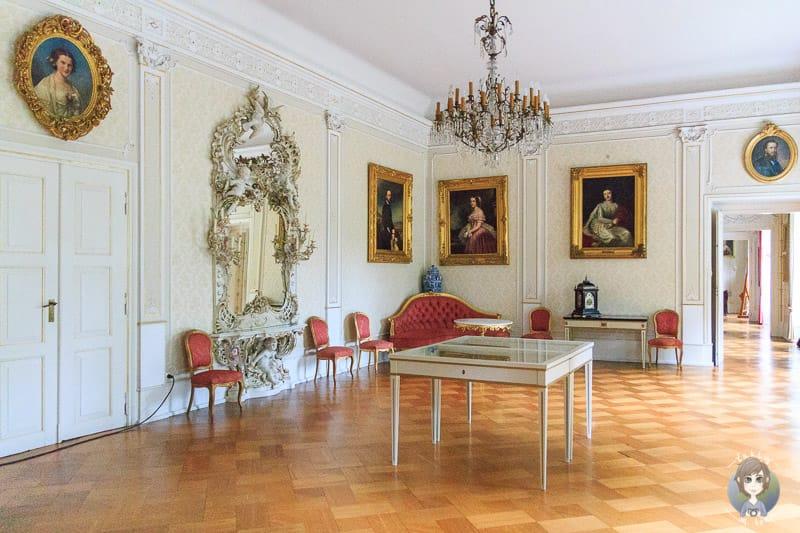 Der Elisabethsaal im Schloss Detmold