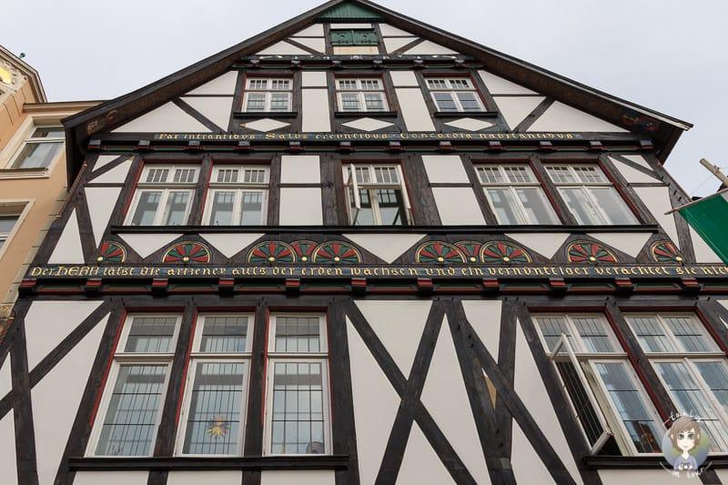 Ein Fachwerkhaus in Detmold