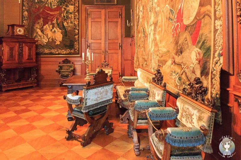 Der Fahnensaal im Residenzschloss Detmold