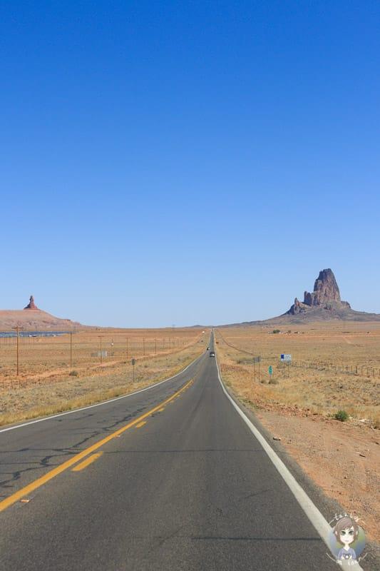 Fahrt Richtung Monument Valley