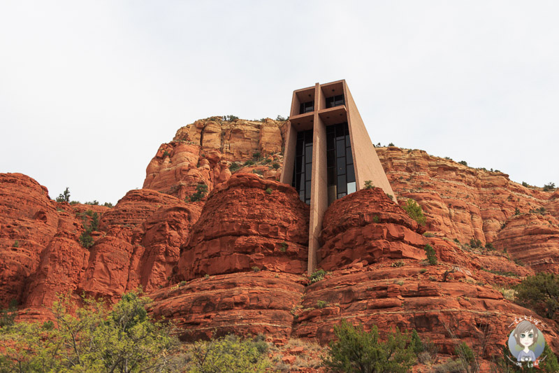 Die Chapel of the Holy Cross in Sedona