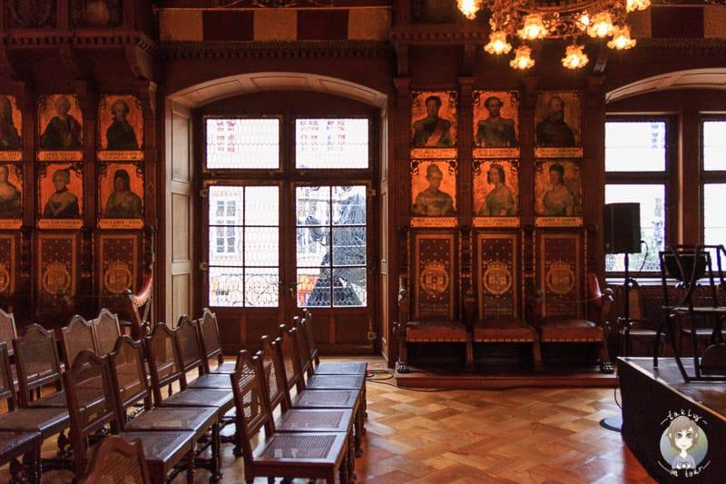 Fürstliches Residenzschloss Detmold mit Ahnensaal