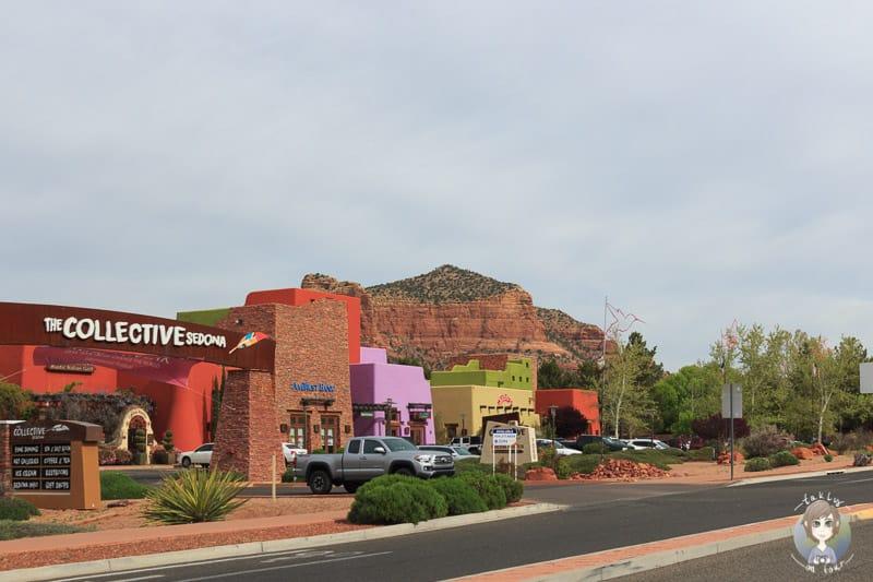 Geschäfte und Versorgungsmöglichkeiten im Valley of Oak Creek