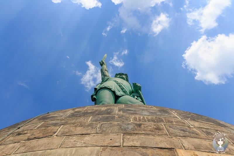 Das Denkmal an Hermann der Cherusker