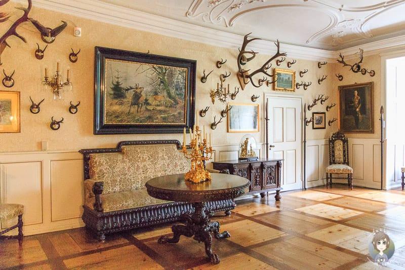 Das Jagdzimmer im Schloss Detmold