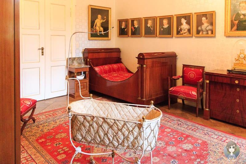 Kinderzimmer im Schloss Detmold