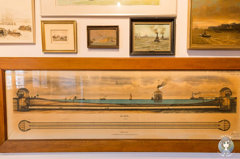 Kunstsammlung im Internationalen Maritimen Museum Hamburg