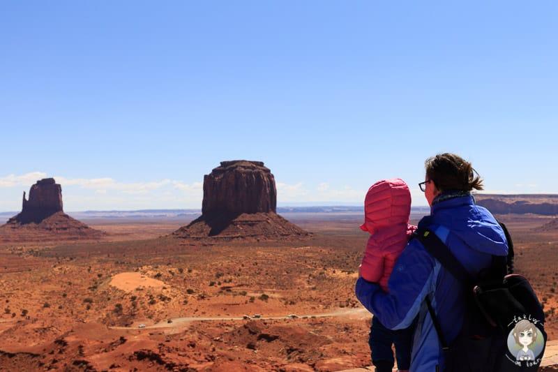 Unsere Reise mit Kind im Monument Valley