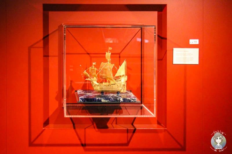 Modell eines Schiffs im IMMH