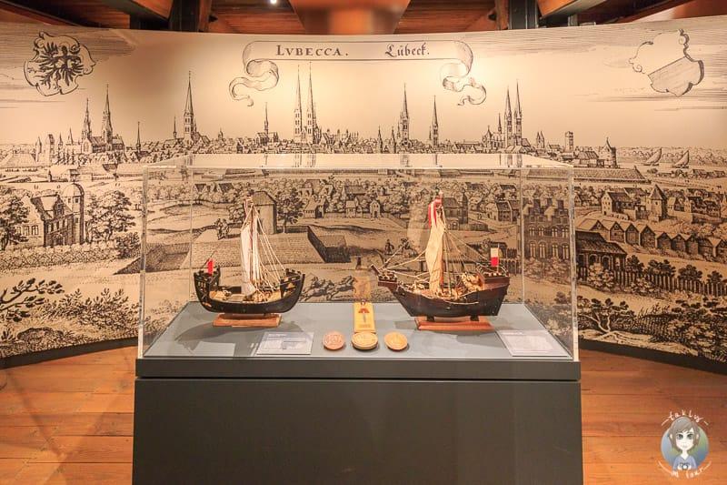 Segelschiffmodelle im Internationalen Maritimen Museum Hamburg
