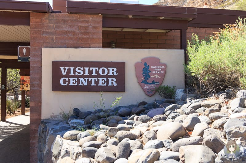 Das Visitor Center am Montezuma Castle National Monument in Arizona