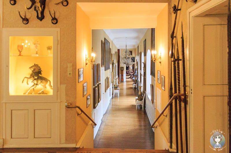 Der Saalgang im Schloss Detmold