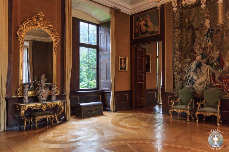Führung durch das Königszimmer im Schloss Detmold