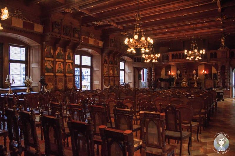 Der Ahnensaal im Schloss Detmold