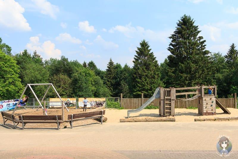 Ein Spielplatz am Hermannsdenkmal