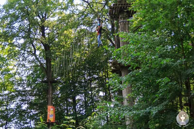 Der Teuto - Kletterpark am Hermannsdenkmal