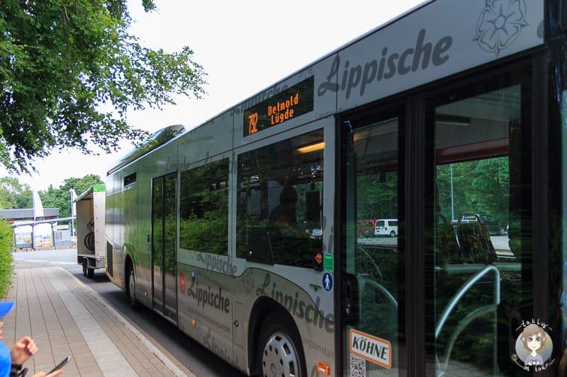 Touristiklinie Bus im Teutoburger Wald