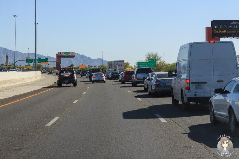 Stadtverkehr in Phönix, Arizona