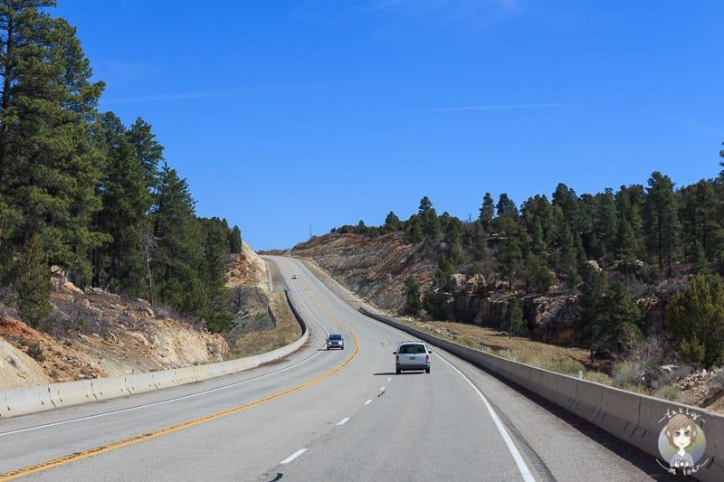 Anfahrt zum Canyonlands National Park