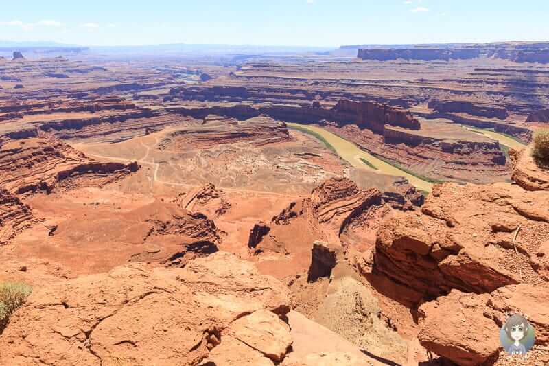 Aussicht auf den Colorado River im Dead Horse Point State Park