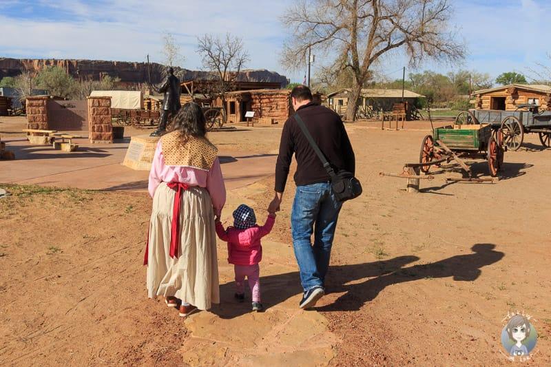 Ausflug in die Bluff Fort Historic Site