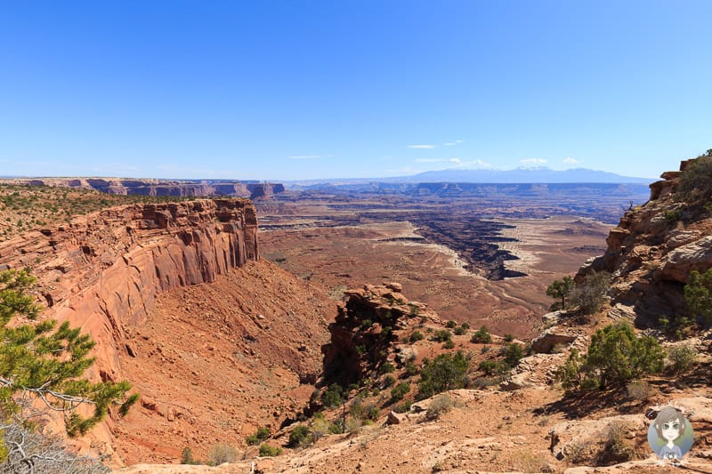 Die Aussicht vom Buck Canyon Overlook